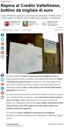 Varesenews del 1° ottobre 2015