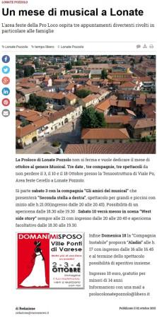 Varesenews del 2 ottobre 2015