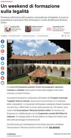 Varesenews del 22 ottobre 2015
