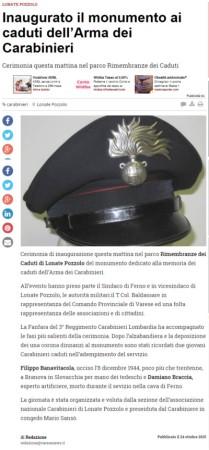 Varesenews del 24 ottobre 2015