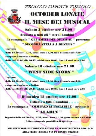 Il mese del musical