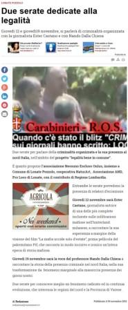Varesenews del 5 novembre 2015
