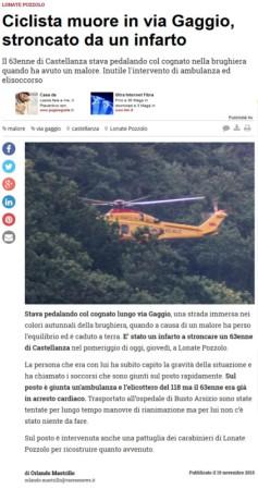 Varesenews del 19 novembre 2015
