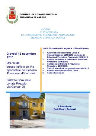 Commissione Finanziaria