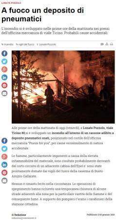 Varesenews del 8 gennaio 2016
