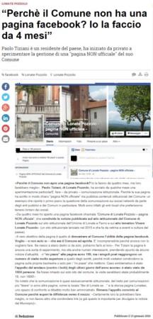 Varesenews del 13 gennaio 2016