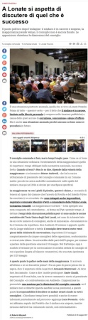 Varesenews del 25 maggio 2017