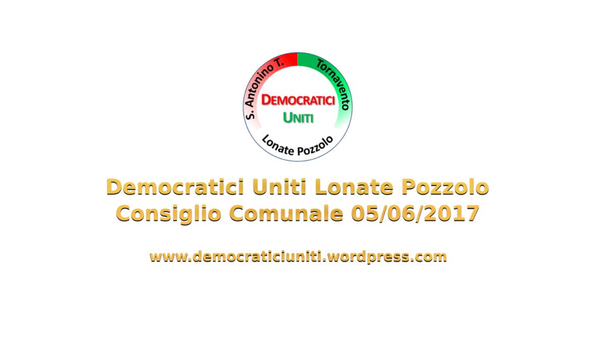 [Audio] Consiglio Comunale del05-06-2017